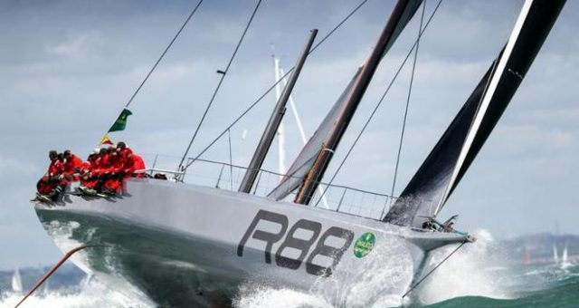 Rolex Fastnet Win on Rambler 88